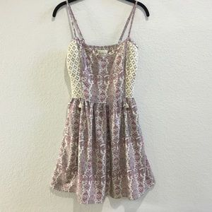 Abercrombie & Fitch boho lace dress